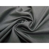 Soft Cotton Knit- Charcoal Grey #1091