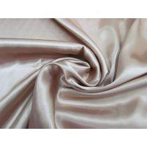 Charmeuse Satin- Soft Bronze #1096