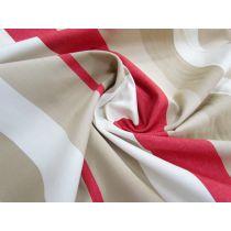 Pool Side Stripe Cotton Canvas