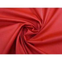 Delustered Cotton Sateen- Red #1138
