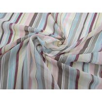 Sunday Stripe Chiffon #1150