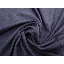 Brushed Back Soft Suiting- Denim Blue #1158