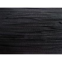 5mm Petersham Ribbon- Black #015
