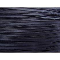 10mm Silk Blend Satin Bias Piping- Evening Navy #017