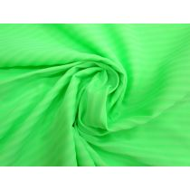 Summer Stripe Matte Spandex- Fresh Lime #1299