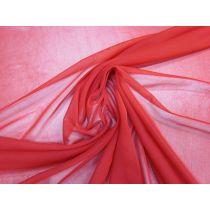 Stretch Chiffon- Red #1372