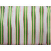 Multi Stripe Cotton- Red/Green/Yellow