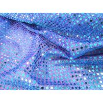 3mm American Sequins- Aqua/Lilac
