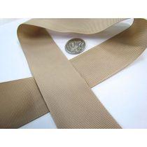 Grosgrain Ribbon 38mm- Taupe