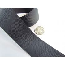 Grosgrain Ribbon 38mm- Charcoal
