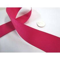 Grosgrain Ribbon 38mm- Azalea
